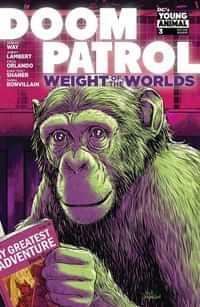 Doom Patrol Weight Of The Worlds #3 CVR A