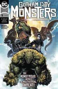 Gotham City Monsters #1 CVR A