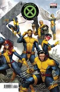 Powers of X #4 Variant Molina Connecting