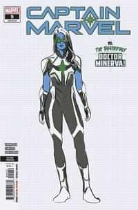 Captain Marvel #9 Second Printing Carnero