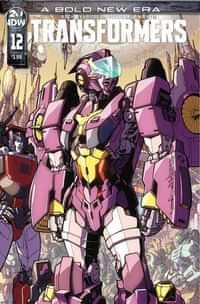 Transformers #12 CVR A Milne
