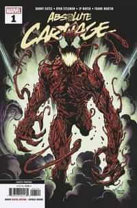 Absolute Carnage #1 Fourth Printing Bagley New Art