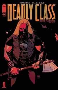 Deadly Class #40 CVR A Craig