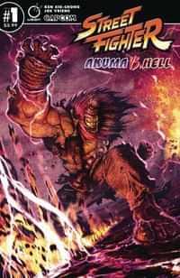 Street Fighter Akuma Vs Hell #1 CVR A Vriens