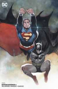 Batman Superman #4 CVR B Card Stock