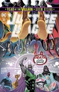 Justice League #33 CVR A