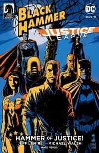 Black Hammer Justice League #4 CVR C Francavilla