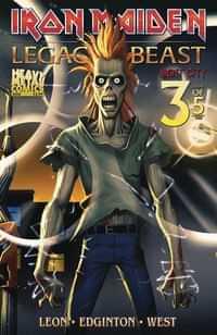 Iron Maiden Legacy of the Beast #3 Night City CVR A