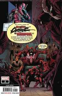 Absolute Carnage Vs Deadpool #2 Second Printing Ferreira