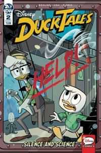 Ducktales Silence and Science #2 CVR A