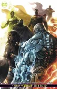 Justice League #34 CVR B Card Stock