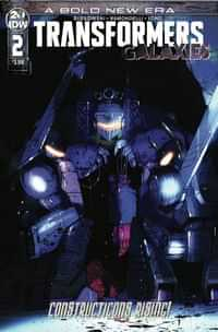 Transformers Galaxies #2 CVR A Ramondelli