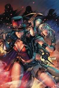 Van Helsing Vs Draculas Daughter #3 CVR B Goh