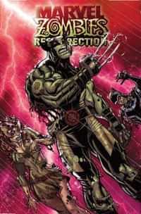 Marvel Zombies Resurrection #1 Variant Bradshaw