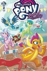 My Little Pony Feats of Friendship #2 CVR A Fleecs