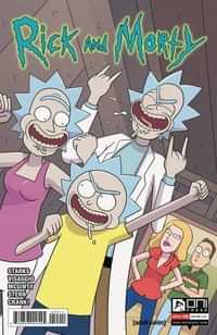 Rick and Morty #55 CVR A Ellerby