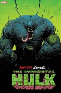 Absolute Carnage One-Shot Immortal Hulk Andrade Second Printing