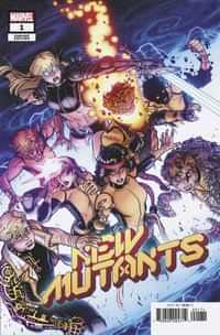 New Mutants #1 Variant 25 Copy Bradshaw