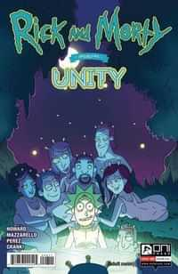 Rick and Morty Presents One-Shot Unity CVR A Cannon