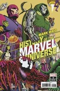 History of Marvel Universe #5 Variant Rodriguez