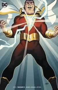 Shazam #8 CVR B