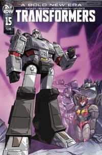 Transformers #15 CVR A Perez