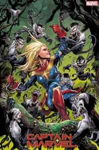 Captain Marvel #13 Variant Cassara Venom Island