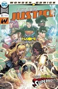Young Justice #11 CVR A