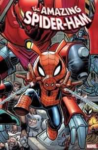 Spider-Ham #1 Variant Art Adams 8 Part Connecting