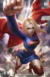 Supergirl #37 CVR B Card Stock Var Ed