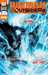 Batman and the Outsiders #9 CVR A