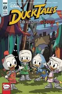 Ducktales Faires and Scares #2 CVR A