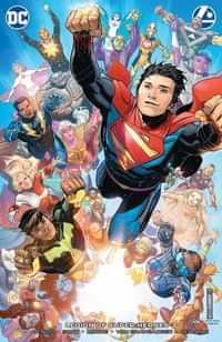 Legion of Super Heroes #3 CVR B Card Stock