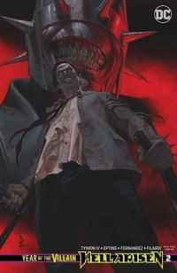 Year Of The Villain Hell Arisen #2 CVR B
