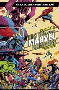 History Of Marvel Universe TP Treasury Edition DM CVR