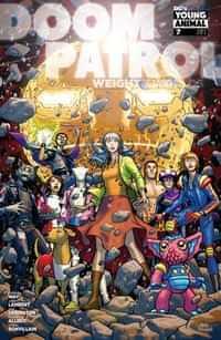 Doom Patrol Weight Of The Worlds #7