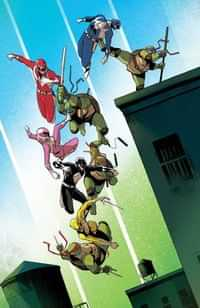 Power Rangers Teenage Mutant Ninja Turtles #3 CVR F Garbet