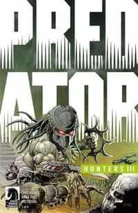 Predator Hunters III #1 CVR B Brase Glow In The Dark