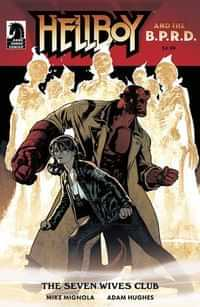 Hellboy and the BPRD the Seven Wives Club CVR A Hughes