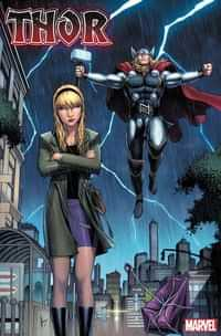 Thor #3 Variant Keown Gwen Stacy