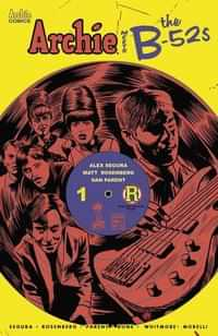 Archie Meets B-52s #1 CVR E Francavilla