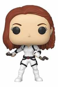 Funko Pop Black Widow Black Widow White Suite