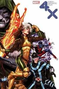 X-Men Fantastic Four #2 Variant Brooks