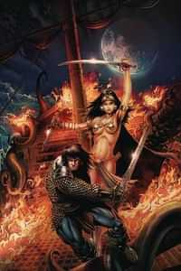 Cimmerian Queen Of Black Coast #1 CVR A Metcalf