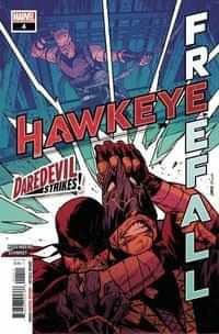 Hawkeye Free Fall #4