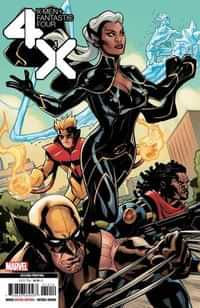 X-men Fantastic Four #1 Second Printing Dodson