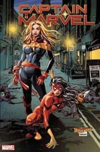 Captain Marvel #16 Variant Panosian Spider-woman