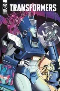 Transformers #19 CVR B Shepherd