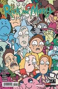 Rick and Morty #60 CVR B Starks