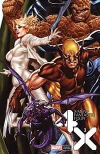 X-Men Fantastic Four #3 Variant Brooks